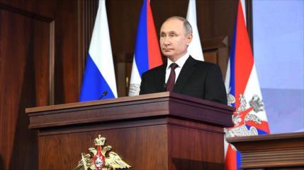 Putin advierte a OTAN que responderá al despliegue de sus misiles