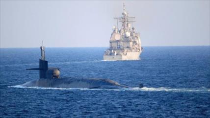 Submarino de EEUU cruza estrecho de Ormuz ¿en desafío a Irán?