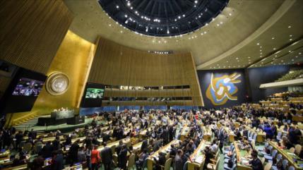 ONU reafirma soberanía de palestinos sobre sus territorios ocupados