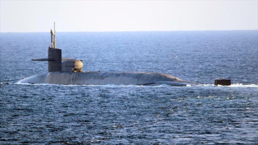 Irán no le teme al submarino nuclear de EEUU en el Golfo Pérsico   HISPANTV