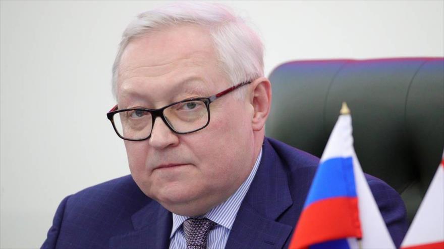 Serguéi Riabkov, el vicecanciller de Rusia.