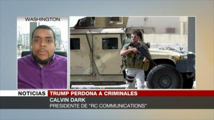 """""""Con indultos a Blackwater, Trump indica que premia a sus leales"""""""
