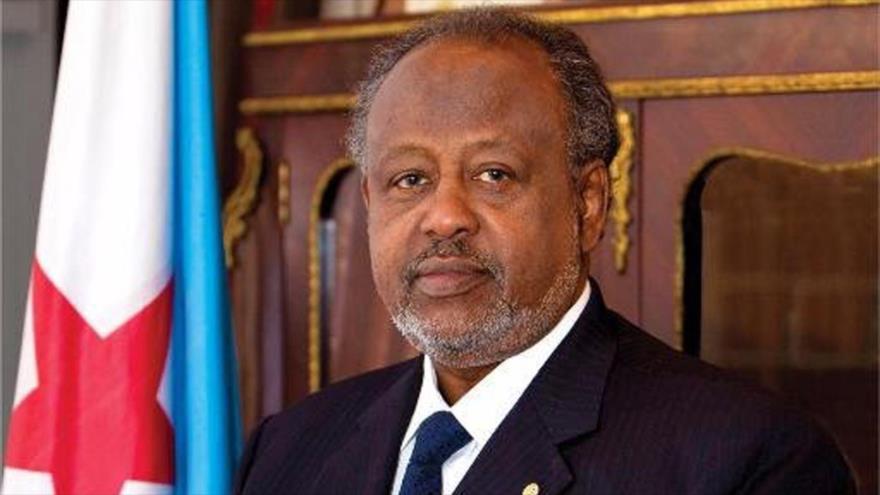 El presidente de Yibuti, Ismail Omar Guelleh.