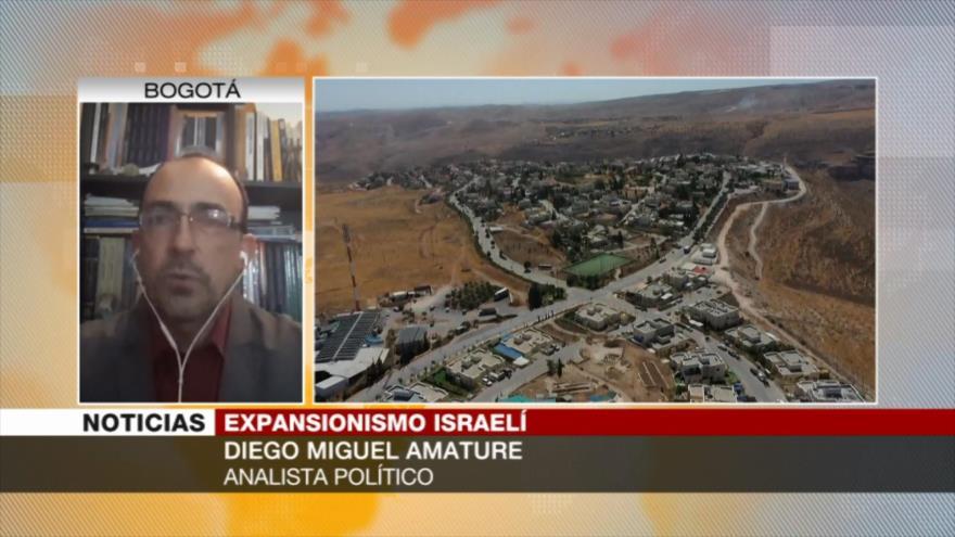 """""""Expansionismo israelí, una burla total al derecho internacional""""   HISPANTV"""