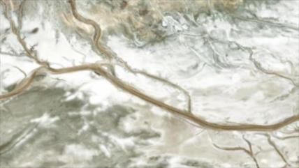 Elaboran el primer mapa de distribución de antiguos ríos de Marte