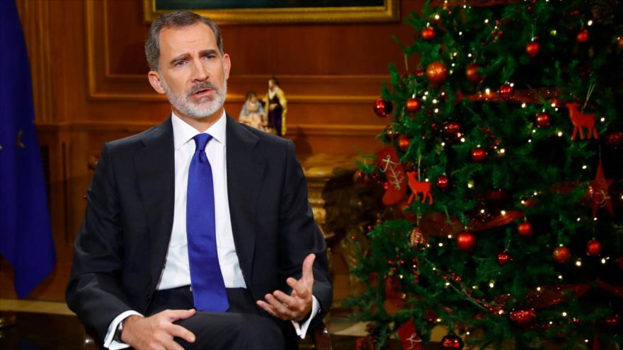 Discurso de Nochebuena del rey de España genera fuertes críticas | HISPANTV