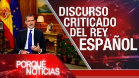 El Porqué de las Noticias: Críticas al Occidente. Discurso criticado del Rey. Mensaje de Paz