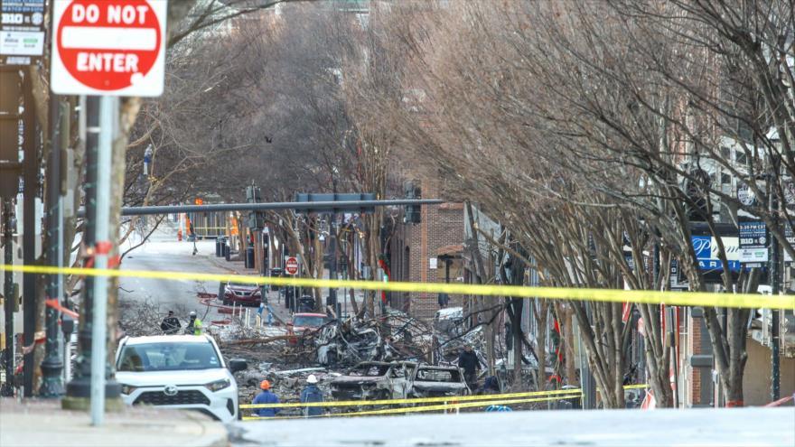 Motivos de la explosión en Nashville; ¿quién se beneficia más?   HISPANTV
