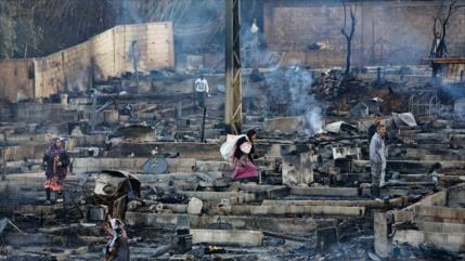 Damasco pide a El Líbano proteger a los refugiados sirios