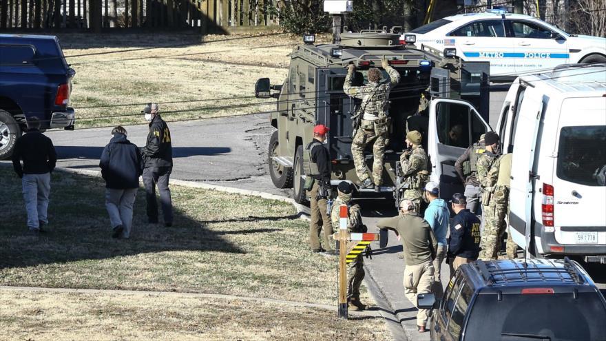 Estallido en Nashville, acto terrorista en plena crisis poselectoral