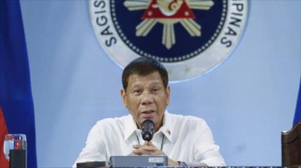 Duterte a EEUU: Si hay vacunas se podrán quedar en Filipinas
