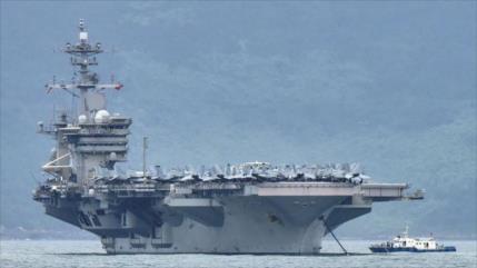 EEUU reta a China con el envío de un portaviones al Indo-Pacífico