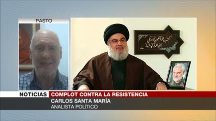 Irán-Siria-Líbano, contra alianza terrorista EEUU-Israel-Arabia Saudí