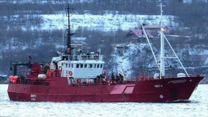 Al menos 16 personas desaparecidas en el naufragio de un barco ruso