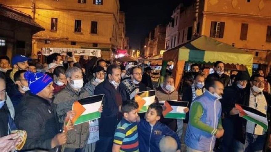 Protestas en todo Marruecos por normalización de lazos con Israel