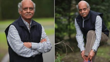 Hombre de 70 años anda el equivalente a circunferencia de la Tierra