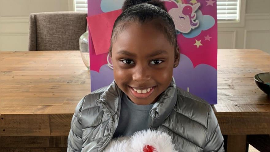 Una niña de 7 años, llamada Kennedy Maxie, murió el 27 de diciembre tras recibir un disparo en Atlanta, Georgia (EE.UU.)