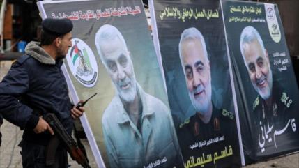 """Qasem Soleimani dio a Palestina misiles que alcanzan Tel Aviv"""