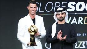 Cristiano Ronaldo, galardonado como Jugador del Siglo