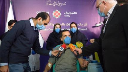 Irán inicia pruebas en humanos de su vacuna contra COVID-19