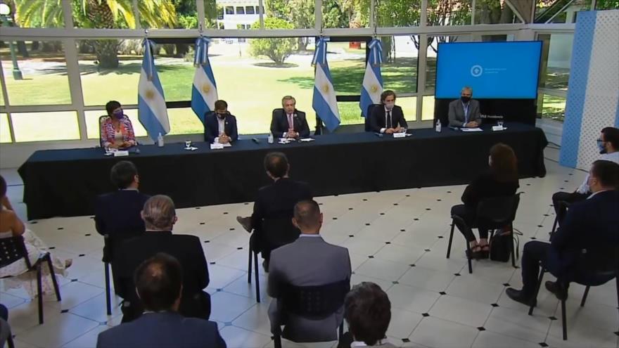 Presidente argentino impulsa plan de construcción de viviendas