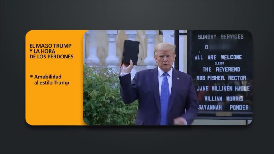PoliMedios: El mago Trump y la hora de los perdones