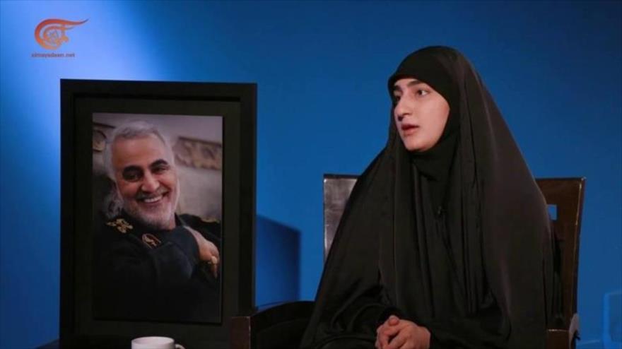 Hija de Soleimani: El legado de mi padre será el fin de Israel | HISPANTV
