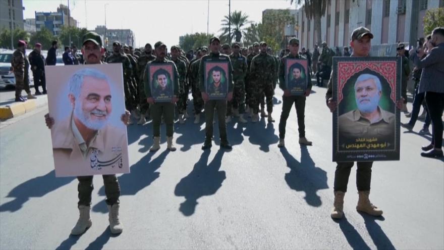 Conmemoran a los comandantes de la lucha antiterrorista en Irak