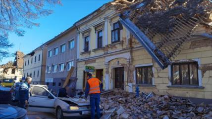 Terremoto en Croacia deja siete muertos, una niña incluida