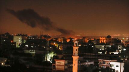 Israel atacó 300 blancos en Gaza y otros 50 en Siria en 2020