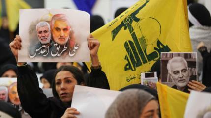 Irán ensalza rol de Soleimani en restaurar la paz en la región