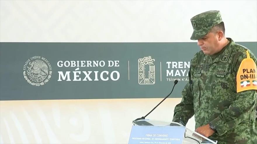 Fuerzas Armadas mexicanas administrarán Tren Maya y aeropuertos