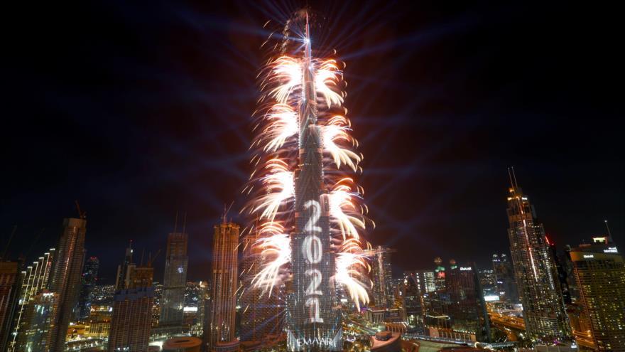 El mundo da la bienvenida al Año Nuevo 2021
