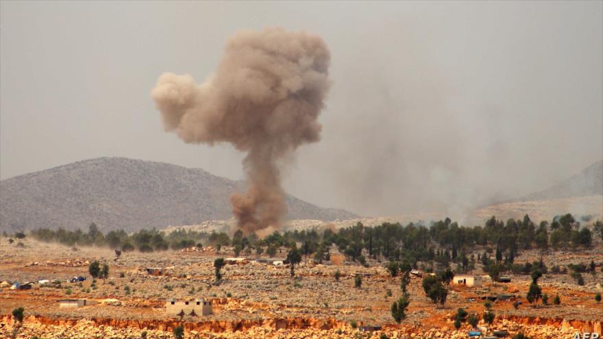 Cazas rusos aplastan a Daesh tras atentado contra autobús en Siria | HISPANTV