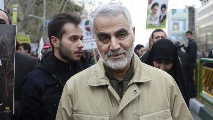 Irán no se detendrá hasta enjuiciar a los asesinos de Soleimani