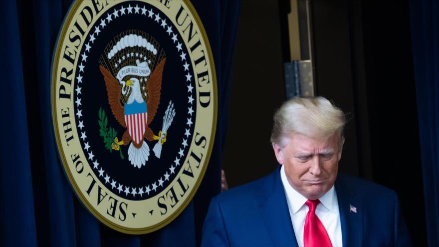 El presidente de EE.UU., Donald Trump, en la Casa Blanca en Washington, D.C., 8 de diciembre de 2020. (Foto: AFP)