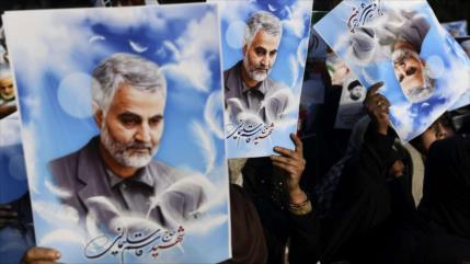 El mártir Soleimani, una estrella en el cielo