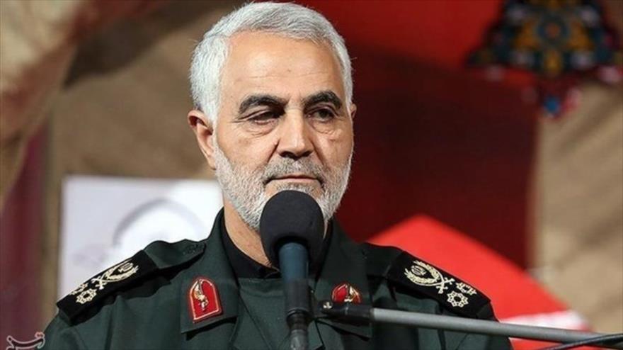 El comandante de la Fuerza Quds del Cuerpo de Guardianes de la Revolución Islámica (CGRI) de Irán, el teniente general Qasem Soleimani. (Foto: Tasnim)