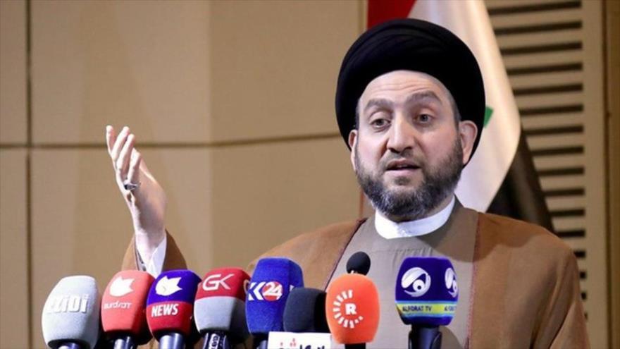 Amar al-Hakim, líder del Movimiento de Sabiduría Nacional de Irak.