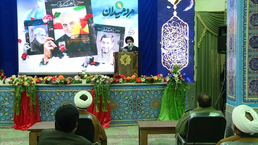 Irán conmemora a héroe de lucha antiterrorista, el general Soleimani