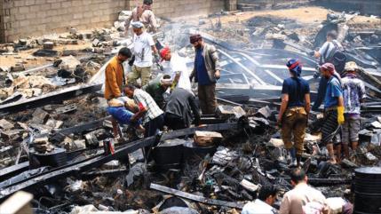 'Londres ocultó varios ataques saudíes contra civiles en Yemen'