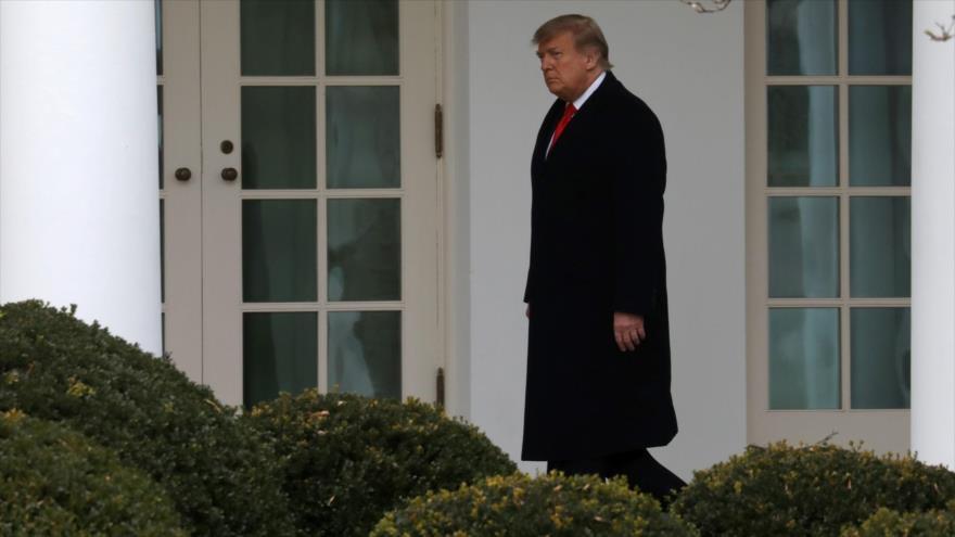 El presidente de EE.UU., Donald Trump, en la Casa Blanca, en Washington D.C., 31 de diciembre de 2020. (Foto: Reuters)
