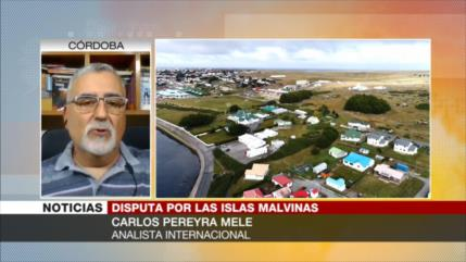 Pereyra Mele: Islas Malvinas, ocupadas ilegalmente por británicos