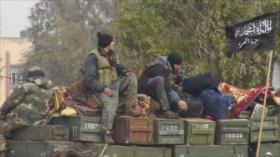 Frente Al-Nusra lanza 17 ataques contra zonas de distensión en Siria