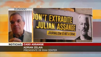 Zelaia: Lo que hace EEUU con Assange viola libertad de información