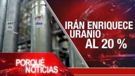 El Porqué de las Noticias: Programa nuclear de Irán. Caso Assange. Disputa electoral en EEUU