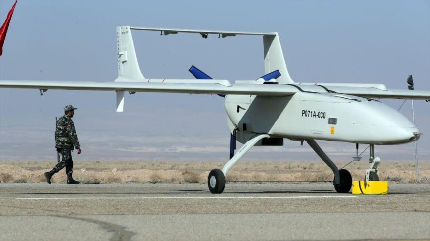 Irán muestra músculo a EEUU con un ejercicio de drones