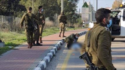 Vídeo: Tropas israelíes matan a tiros a un palestino en Cisjordania