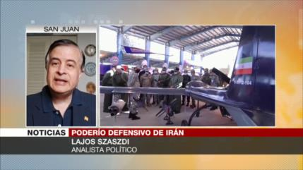 'Irán, un país altamente tecnológico en la industria de drones'