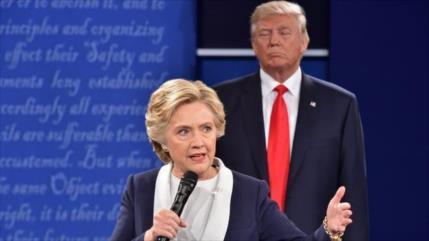 Clinton a Trump: No provoque una guerra con Irán antes de irse
